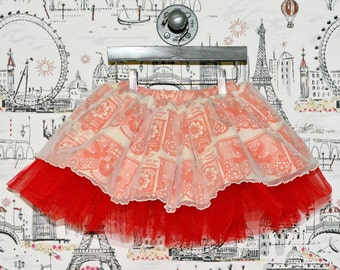 SAMPLE SALE - Opal Skirt in Curiouser & Curiouser - Size 3 - Take it for a twirl!