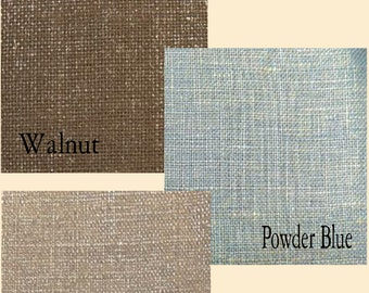 Custom Metallic Linen Drape with Lining - You pick the color