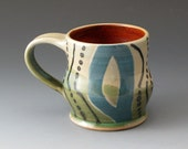 Handmade Coffee Cup, Ceramic Mug, Teacup, Drinkware, Mugs, Fine Art Ceramics