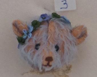 Mary Dowd Bears-Teddy Head Pin LE 1/1-