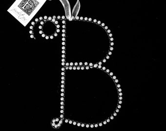 Pearl Letter B Monogram (All Letters Available)