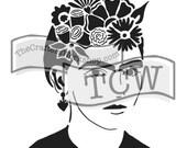 La Artista Stencil 6x6: TCW645