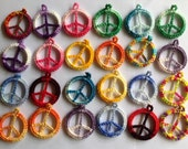 Custom Order of 24 Assorted Peace Pendants