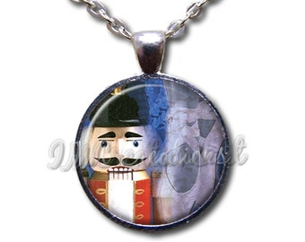 Nutcracker Ballet - Round Glass Dome Pendant or with Necklace by IMCreations -   BA103