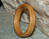 Bamboo Wood Ring (In Stock Size 6.25; 4mm Width) // Wood Wedding Ring // Wooden Wedding Band