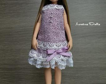 Violet - Handmade dress for Blythe, Momoko, Ruruko dolls