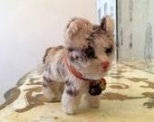 Vintage Steiff Mohair Antique Tabby Cat Kitten Kitty