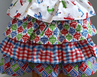 The Lucy Flirty Apron Size L