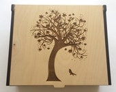 Large Tree of Life Essential Oil Box with Custom Initials