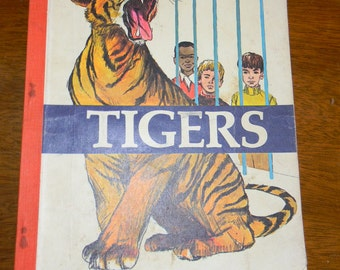 Vintage Tigers Children's Book, Copyright 1971/73 Edition