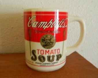 Vintage Cambpell's Tomato Soup Mug
