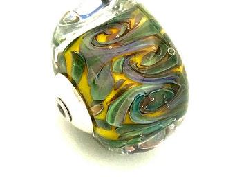 Handmade Glass Lampworked Bead