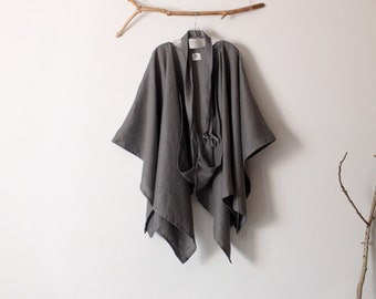 custom linen mysterious versatile wrap free size made to order listing