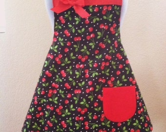 Black Cherry Apron