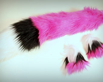 Fox Ears and Tail -  Fox Costume Set INSTOCK-Ready to Ship