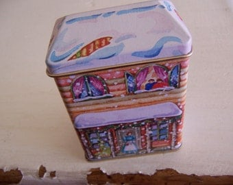 tiny lillian vernon tin box
