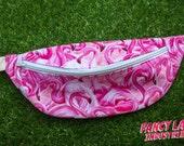 """Pink Flamingo Bumbag - waist fits 121cm/ 45"""""""