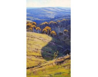 LANDSCAPE Oil PAINTING Original Wall art by award winning artist Graham Gercken