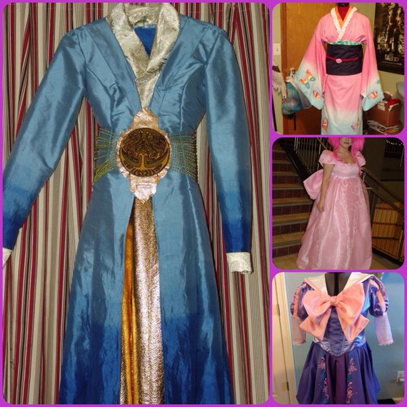 Custom Costume Commissions for Cosplay Halloween Anime Conventions