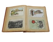 Old Postcard Album, Vintage & Antique Photographs, World Travels