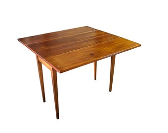 1820s Table | Pre Victorian Shaker Furniture | Hardwood | Simple Design |  Antique Dining Table
