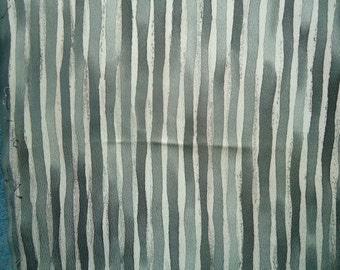 Kimono Silk Gray Stripes