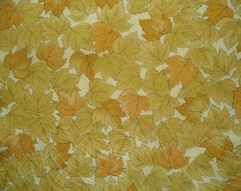 Kimono Silk Overlapping Leaves