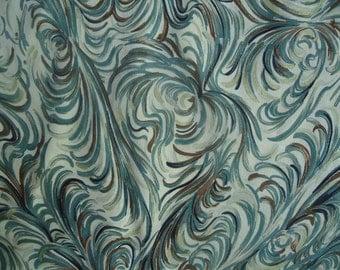 Kimono Silk Light Feathery Print