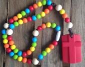 Classic Rainbow Chews Life Soft Rosary