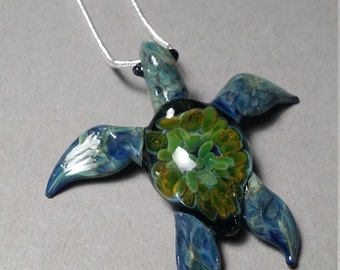 Amazon Sea Turtle pendant