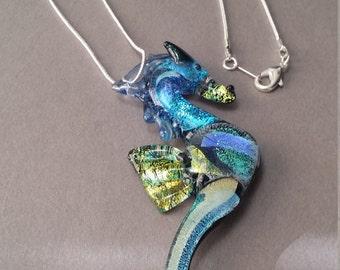 Oro del Mar Sea Horse pendant for your girl friend best friend gift