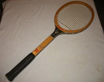 Vintage Tony Trabert Signature Speed Flex Wilson Wooden Tennis Racquet (Court)
