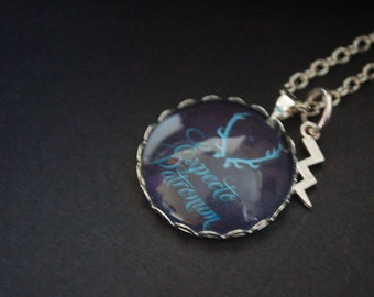 HarryPotter expecto patronum stag necklace
