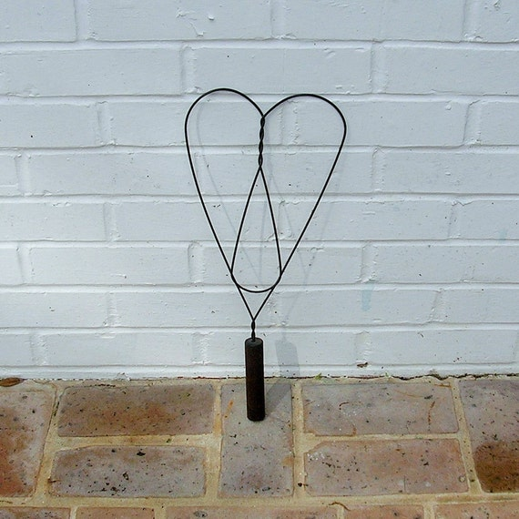 Antique Vintage Rug Beater Metal Rug Beater With Wood Wooden