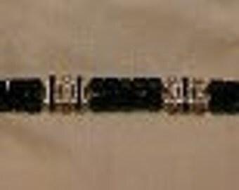 Swarovski Crystal and Pearl Tennis Bracelet