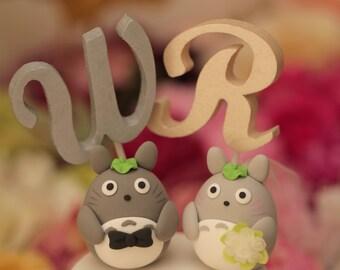 cake topper---Custom Order Deposit for the lovely Wedding Cake Topper (K103)