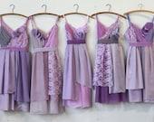 Custom Lavender Bridesmaids Dresses