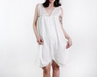 ON SALE Antique One Piece Night Gown