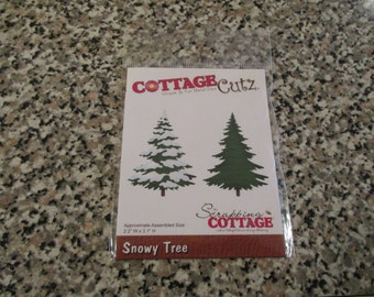 Cottage Cutz, Snowy Tree Die