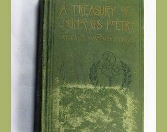 Treasury of Humorous Poetry 1917