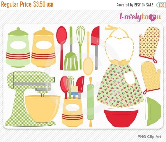 Kitchen Utensils Border kitchen utensils border clipart