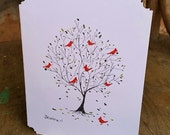 NEW, We Are Home, Any Occasion, Tree Notecard, blank inside