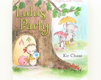 LULU'S PARTY -- Children's Book by Kit Chase