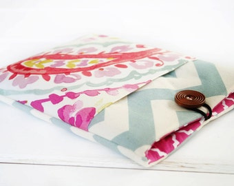 Gadget Cases and Covers made to FIT ANY BRAND Reader, Kindle Case, Kindle Paperwhite Case, Nook Glo Case in Raspberry Sorbet