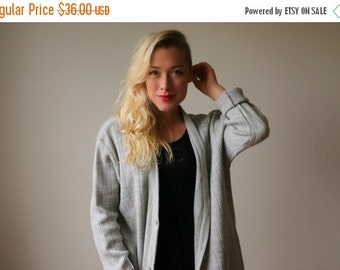 ON SALE 1970s Ribbed Cardigan Sweater~Size Small~Medium~Large