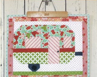PATTERN SMORE FUN Glamping Travel Trailer Camper Mini Quilt   We combine shipping
