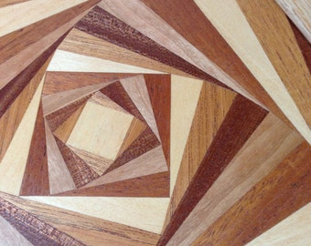 Abstract Marquetry