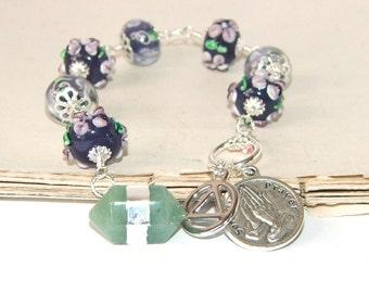 Meditation Beads, Serenity Prayer - 12 Step Recovery Beads
