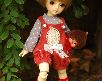 Patterns and English Instructions of Balloon Overall for YoSD Doll