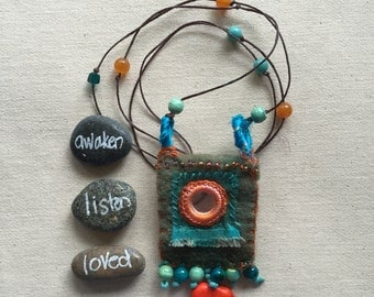 Word Keeper Amulet Necklace